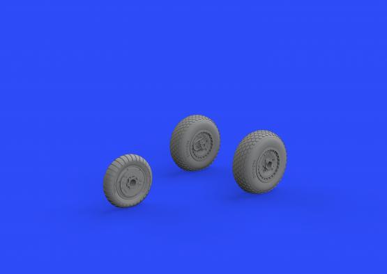 Me 262 wheels 1/72  - 2