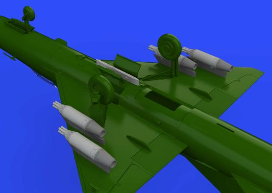 UB-16 rocket launchers w/ pylons for MiG-21 1/72  - 2