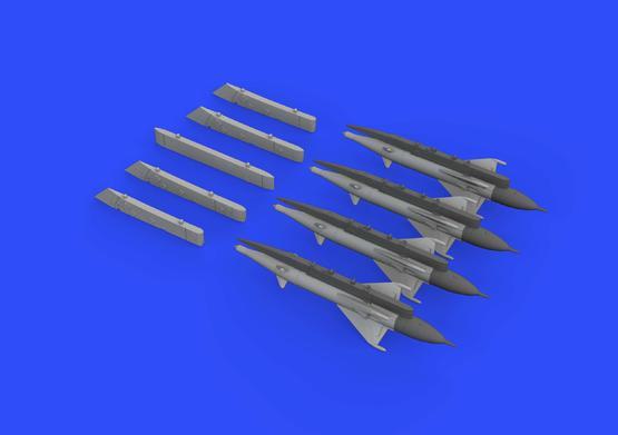 RS-2US střely a pylony pro MiG-21 1/72  - 2