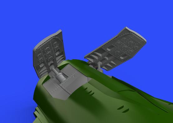 MiG-21MF スピードブレーキ 1/72  - 2