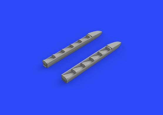 Ki-61-Id exhaust stacks 1/72  - 2