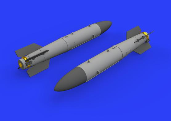 Атомная бомба B43-0 с хвостовой частью SC43-4/-7 1/72  - 2