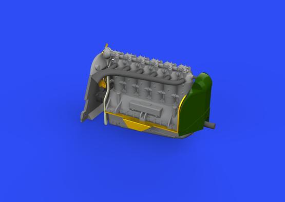 Fokker D.VIIF engine/BMW IIIa 1/72  - 2