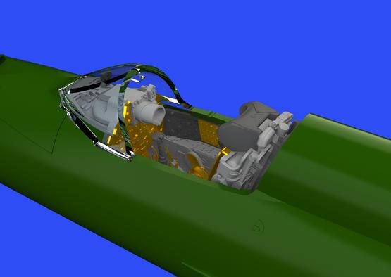 МиГ-21ПФМ кабина 1/72  - 2