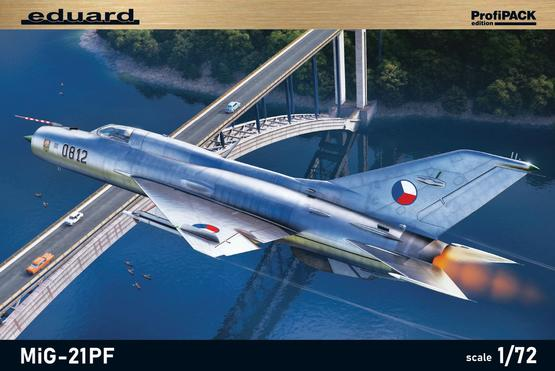 MiG-21PF 1/72  - 2