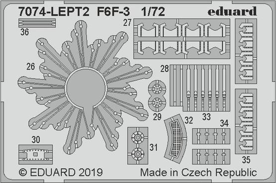 F6F-3 PE-set 1/72  - 2