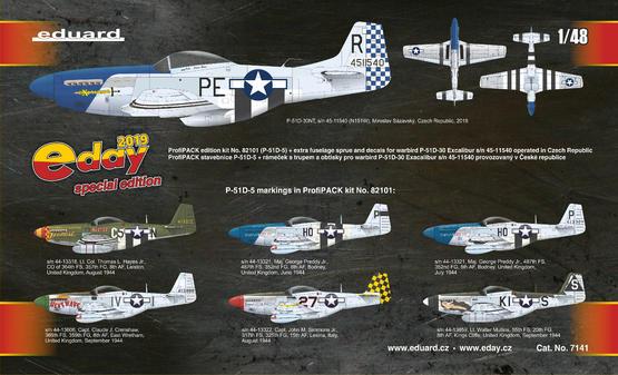 P-51D Excalibur 1/48  - 2