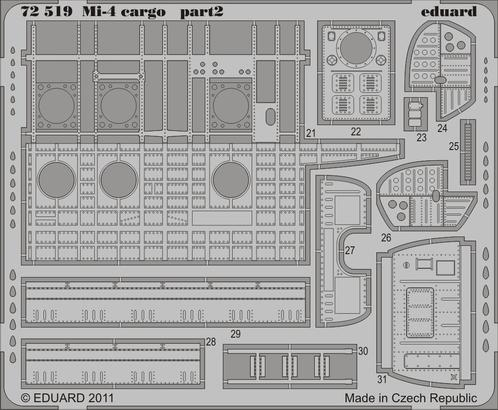 Mi-4 cargo 1/72  - 2