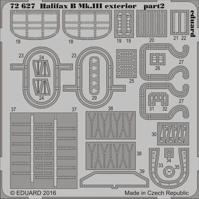 Halifax B Mk.III exterior 1/72  - 2