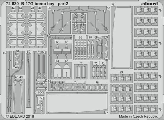 B-17G bomb bay 1/72  - 2