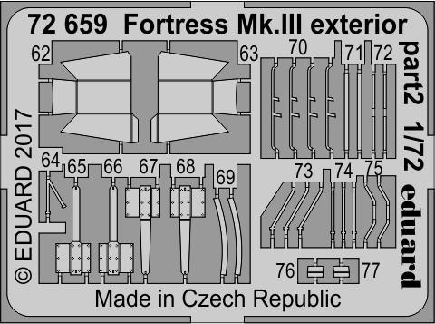 Fortress Mk.III exterior 1/72  - 2