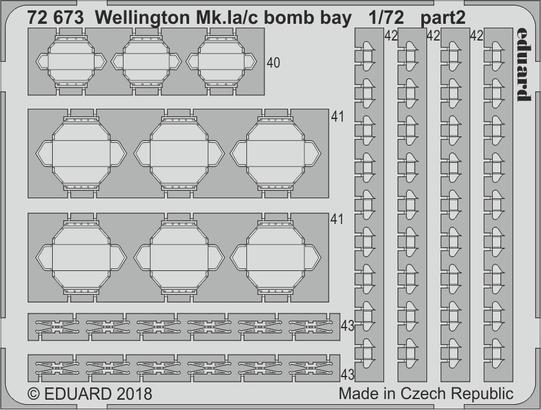 Wellington Mk.Ia/c bomb bay 1/72  - 2