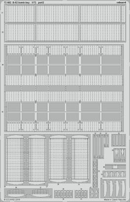 B-52 pumovnice 1/72  - 2