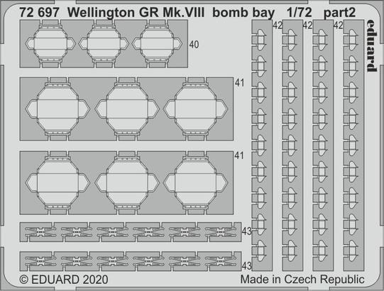 Wellington GR Mk.VIII bomb bay 1/72  - 2
