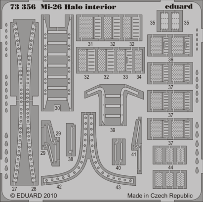 Mi-26 Halo interior 1/72  - 2