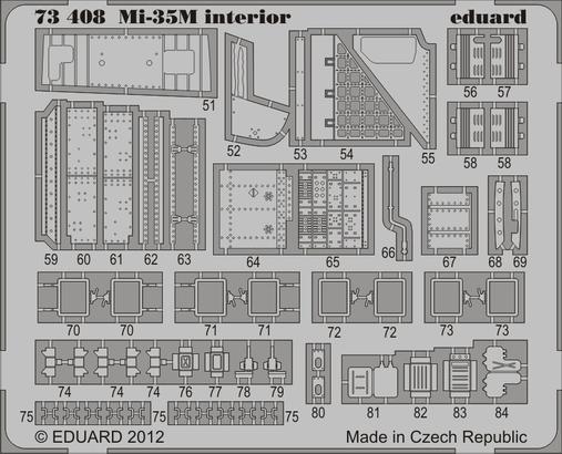 Mi-35M interior S.A. 1/72  - 2