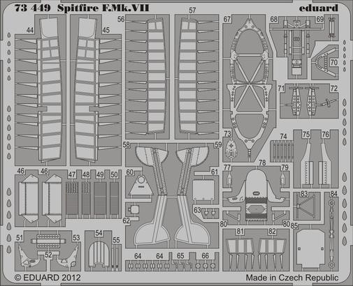 Spitfire F.Mk.VII 1/72  - 2