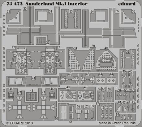 Sunderland Mk.I interior S.A. 1/72  - 2