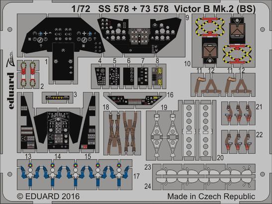 Victor B Mk.2 (BS) interior 1/72  - 2