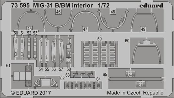 MiG-31B/BM 1/72  - 2