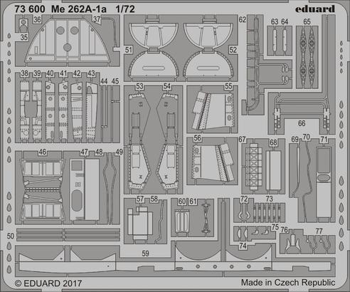 Me 262A-1a 1/72