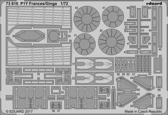 P1Y Frances/Ginga 1/72  - 2