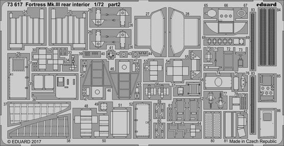 Fortress Mk.III rear interior 1/72  - 2