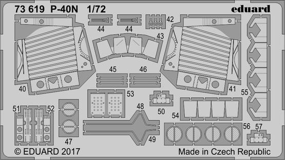 P-40N 1/72  - 2