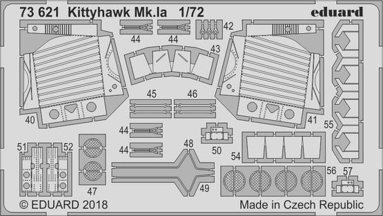 Kittyhawk Mk.Ia 1/72  - 2
