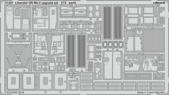 Liberator GR Mk.V upgrade set 1/72  - 2
