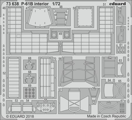 P-61B interior 1/72  - 2