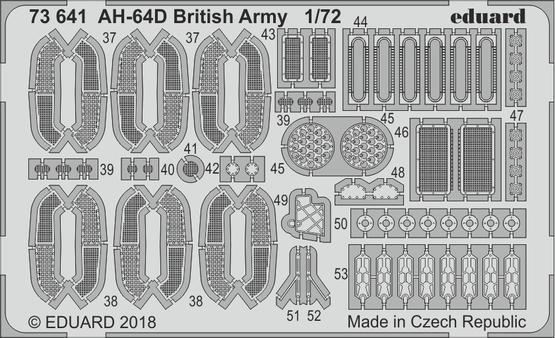AH-64D British Army 1/72  - 2