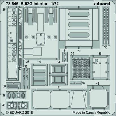 B-52G interior 1/72  - 2