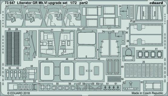 Liberator GR Mk.VI upgrade set 1/72  - 2