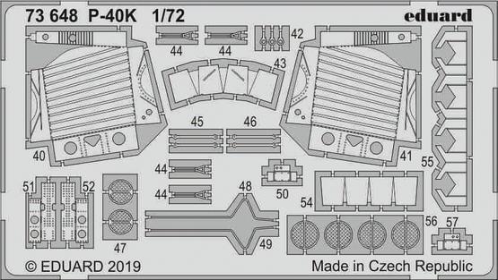 P-40K 1/72  - 2