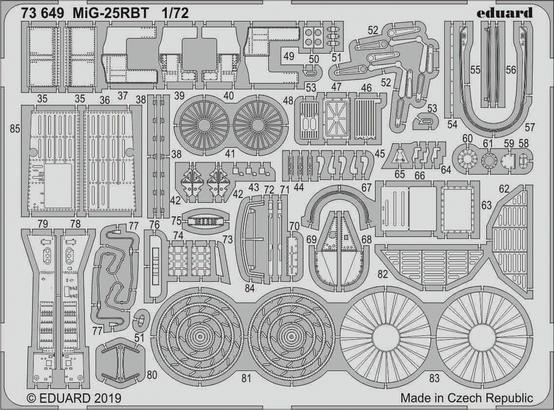 MiG-25RBT 1/72  - 2