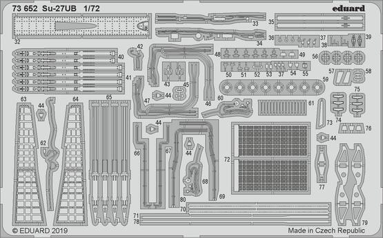 Су-27УБ 1/72  - 2