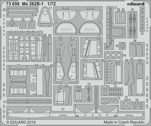 Me 262B-1 1/72  - 2