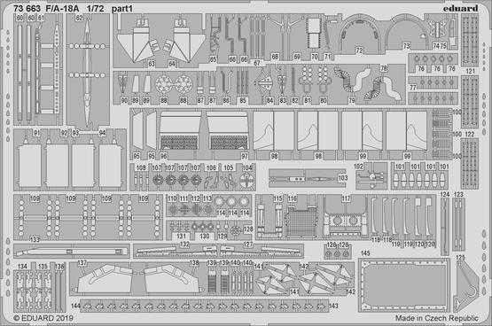 F/A-18A 1/72  - 2