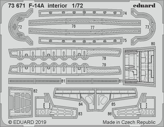 F-14A interior 1/72  - 2