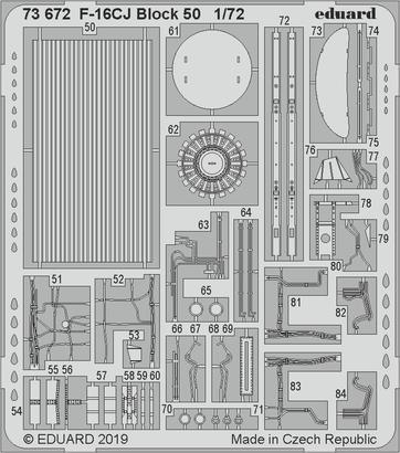 F-16CJ Block 50 1/72  - 2
