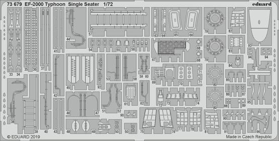 EF-2000 Typhoon Single Seater 1/72  - 2