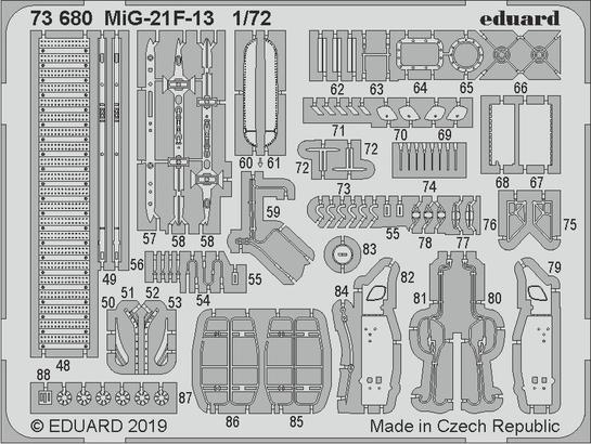 МиГ-21Ф-13 1/72  - 2