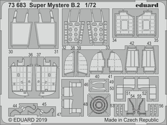 Super Mystere B.2 1/72  - 2