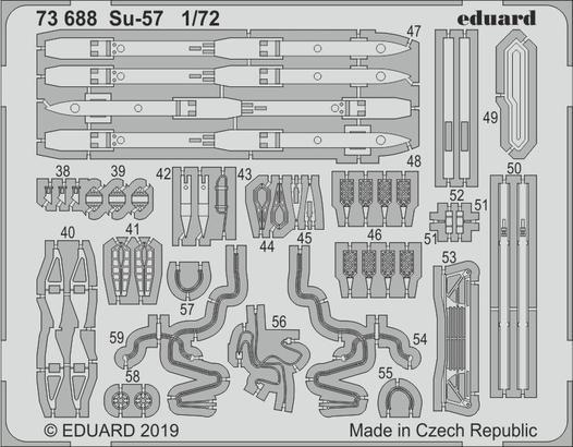 Су-57 1/72  - 2