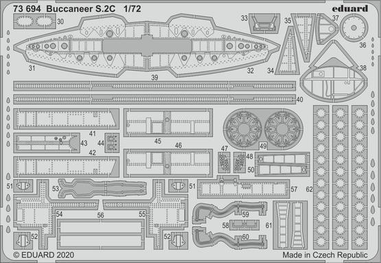 バッカニア S.2C 1/72  - 2