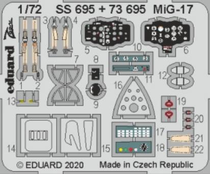 МиГ-17 1/72  - 2