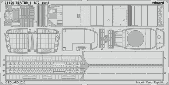 TBF/TBM-1 Avenger 1/72  - 2