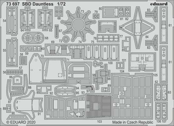SBD ドーントレス 1/72  - 2