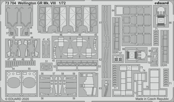 ウェリントン GR Mk.VIII 1/72  - 2